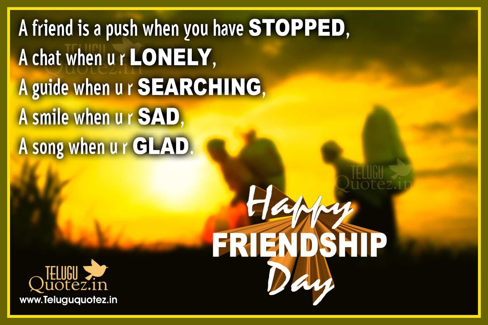 Friendship Day Quotes Sms Greetings For Best Friend Gazab News
