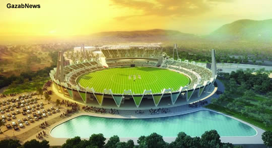 Raipur Dehradun Stadium Pics Images - Dun International Cricket Stadium