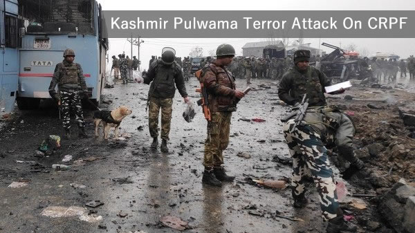 India Kashmir Pulwama Terror Attack on CRPF Jawan